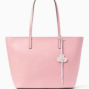 Kate Spade Kelsey Leather Tote Carnation Pink